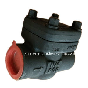 800lb 1500lb Forged Steel A105 Thread End NPT Check Valve pictures & photos
