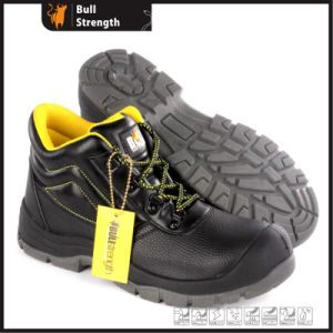 Industrial Leather Safety Shoes with PU/PU Sole (SN5485) pictures & photos