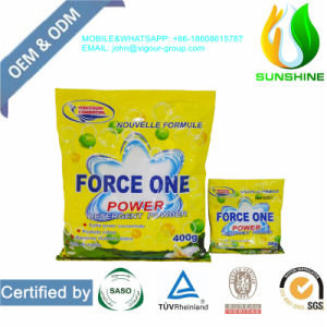 30g Small Package High Foam Cheap Price Detergent Powder for OEM/ODM pictures & photos