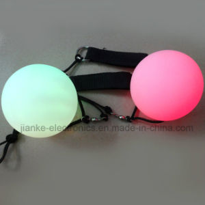 Multicolor LED Flashing Light Poi Ball with Logo Printing (3560) pictures & photos