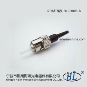St 0.9mm Fiber Optic Connector with Ferrule pictures & photos