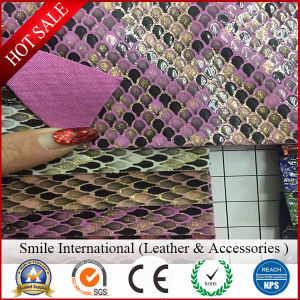 Crocodile PVC Artificial Leather Very Hot Sell pictures & photos