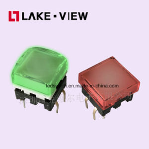 TL12 Series Illuminated Tact Switch Have a Small Footprint and Come in Many Sizes and Gram Forces. pictures & photos