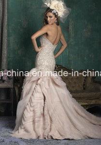 Stunning Beading Bodice Mermaid Trumpet Wedding Dress Prom Dress Wedding Gown (Dream-100033) pictures & photos