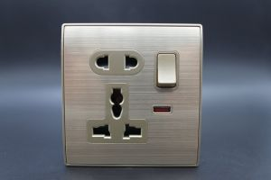 T123 2pin and International Socket with Safety Door pictures & photos