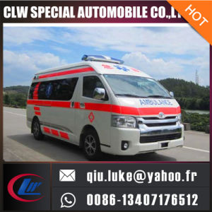 Toyota Hiace High Roof ICU Ambulance pictures & photos