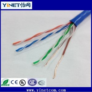 Factory Wholesale UTP Cat5e LAN Cable 4pr 24AWG 1000FT /305m pictures & photos
