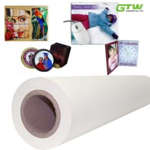 "Quick Dry 60GSM Sublimation Transfer Paper in 63"" Size for Textiles pictures & photos"