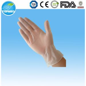 Disposable Plastic Surgical Gloves with Eo Sterilized pictures & photos
