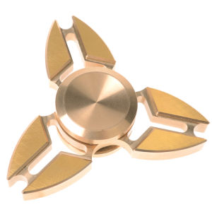 Tri-Spinner Pure Brass Crab Shape Fidget Toy Fingertip Gyroscope pictures & photos