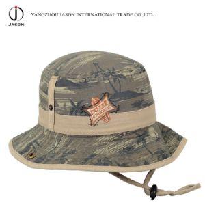 Safari Hat Bucket Hat Fisherman Hat Hunter Hat Safari Hat with Cord Stopper Ribbon pictures & photos