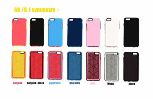 Hot Double Colors Symmetry Case for iPhone 6 7 Plus pictures & photos