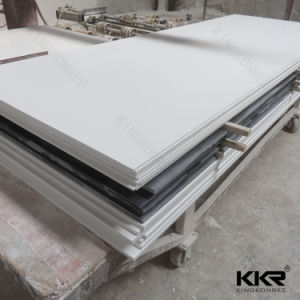 Kingkonree 100% Pure White Acrylic Solid Surface pictures & photos