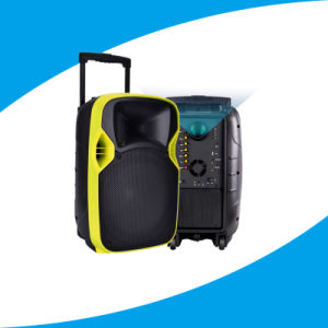 Hot! New Active Wireless Bass Karaoke LED Projection Speaker