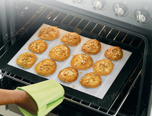 Non Stick Anti Slip Easy Cleaning Silicone Baking Mat pictures & photos
