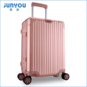 Good Quality New Design 20′′ All Aluminum Frame Luggage pictures & photos