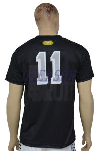 Wholesale Sportswear Customized Football / Soccer Shirts for Kids / Adults (S027) pictures & photos