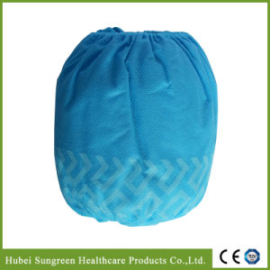 Machine Made Anti-Skid Non-Woven Overshoe, Disposable Anti-Slip Overshoe pictures & photos