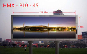 Full Color Outdoor P10 LED Module with 160X160mm Display Board pictures & photos