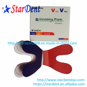 Hydrophilic Thickening Horse Shoe Type Articulating Paper 50μ M pictures & photos