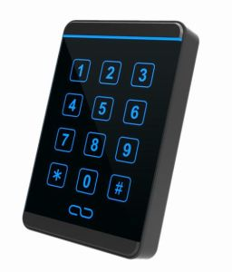 Proximity Reading Range Reader Touch Screen Wiegand RFID Keypad Reader for Apartment pictures & photos