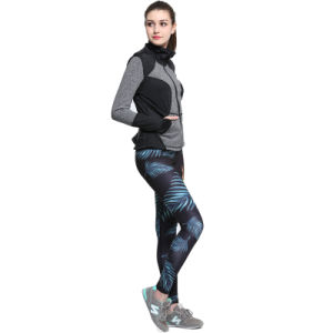 Women Long Short Sleeve Shirts and Tights Thermal Wicking Girls Compression Garment pictures & photos