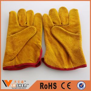 Leather Work Safety Driving Gloves pictures & photos