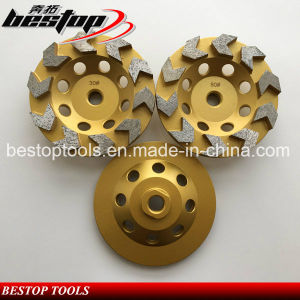 Long Performance Life Granite Cutting Wheel Cup Wheel pictures & photos