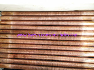 Low Fin Tube/Extruded Fin Tube/Copper Fin Tube pictures & photos