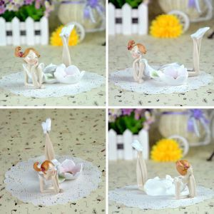 2017 Cheap Price Polyresin Fairy Candle Holder as Home Deco pictures & photos