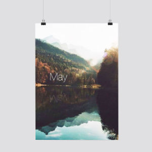 2017 Customized Design Wall Paper Calendar Printing pictures & photos