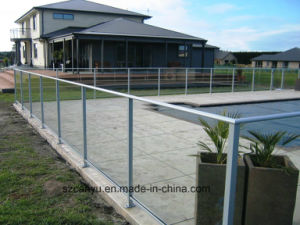 2017 Hot Style Safety Glass Railing Balustrade Handrail pictures & photos