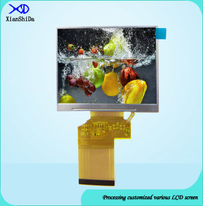 High Brightness 3.5 Inch TFT LCD Screen 320 (RGB) X240 Resolution pictures & photos
