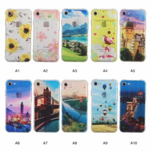 Shockproof TPU Painting Acrylic Phone Case for iPhone 7 pictures & photos