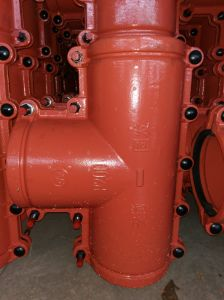 PE, PVC Pipe Repair Clamp Tee P200, Pipe Repair Coupling, Pipe Leak Repair Clamp, Leaking Pipe Quick Repair. pictures & photos