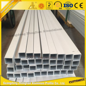 High Quality 6063-T5 Aluminium Extrusions Square Tubing pictures & photos