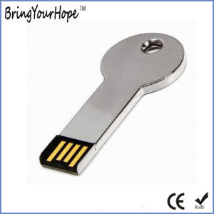 Round Head Metal Key Shape USB Drive (XH-USB-054R) pictures & photos