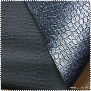 Imiated Genuine Leather Stone Texture for Shoes (S296100GH) pictures & photos