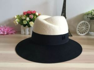 Wool Felt Colourful Gentleman Hat with Logo Customed Cap