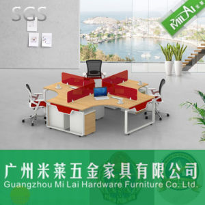 Fashion Furniture Steel Foot with Melamine Top Office Table pictures & photos