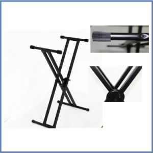 Hot Sale Pull-up X-Style Keyboard Stand pictures & photos