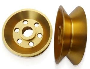 Aluminum Precision CNC Machining Audio Component Copper Plated