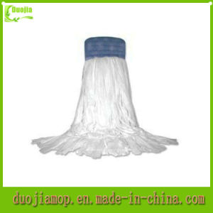 Looped Wet Mop Head Flat Cotton Mop Head pictures & photos