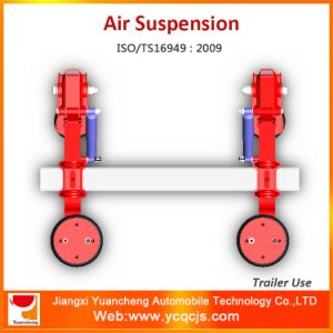 High Quality Leaf Spring Semi-Trailer Rear Part Lifting Trailer Suspension pictures & photos