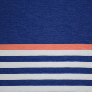 Yarn Dyed Stripe Jersey Fabric for Clothing pictures & photos