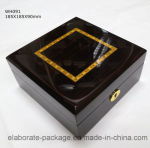 China Style Classical Unique Wooden Watch Box for 6 Ties pictures & photos
