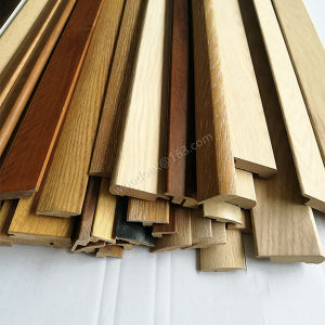 Different Profile MDF and Solid Wood Moulding /Flooring Accessories pictures & photos