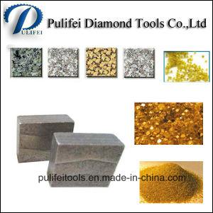 M Sandwich Shape Diamond Segment for Cutting Granite Saw Blade