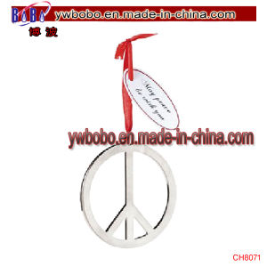 Peace Sign Christmas Product Ornaments Party Holiday Home Decoration (CH8071) pictures & photos