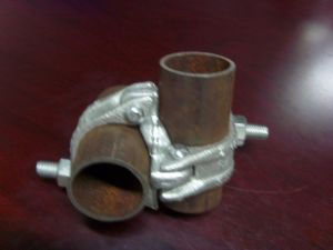 Scaffolding Fastener/Drop Forged Double Coupler/Fixed Coupler BS1139/En74 pictures & photos